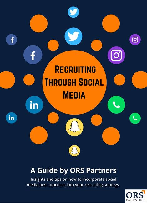 Social Media Recruiting Cover Page